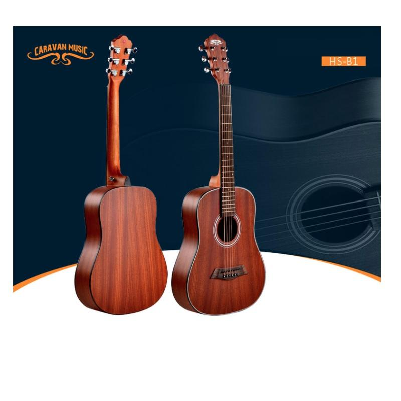 Caravan Music Traveler Guitars HSB 1 Tobacco Chitarra Acustica