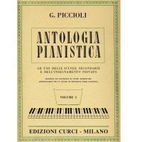 Piccioli G. ANTOLOGIA PIANISTICA ad uso delle scuole secondarie e dell' insegnamento privato VOLUME I - Edizioni Curci