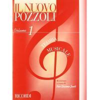 Il nuovo Pozzoli Volume 1 Teoria Musicale - Ricordi