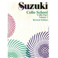 Suzuki Cello School Volume 3