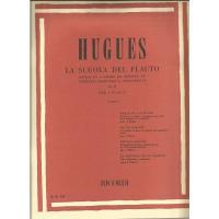 Hugues La Scuola Del Flauto Divisa in 4 gradi ed esposta in duettini originali e progressivi Op. 51 per 2 Flauti (Veggetti) - Ricordi