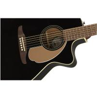 Fender Newporter Player Jetty Black WN Chitarra Acustica Elettrificata_3