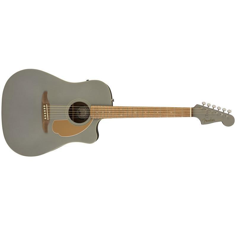 Fender Redondo Player Slate Satin WN Chitarra Acustica Elettrificata