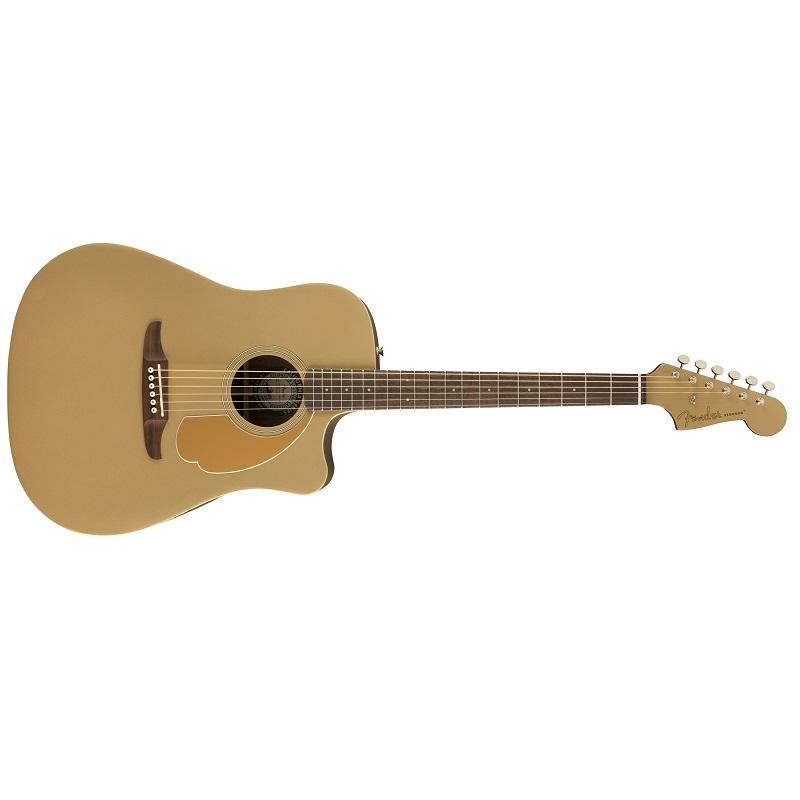 Fender Redondo Player Bronze Satin WN Chitarra Acustica Elettrificata