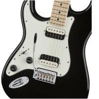Fender Squier Contemporary Strat HH LH MN Black Metallic Chitarra Elettrica Mancina_3