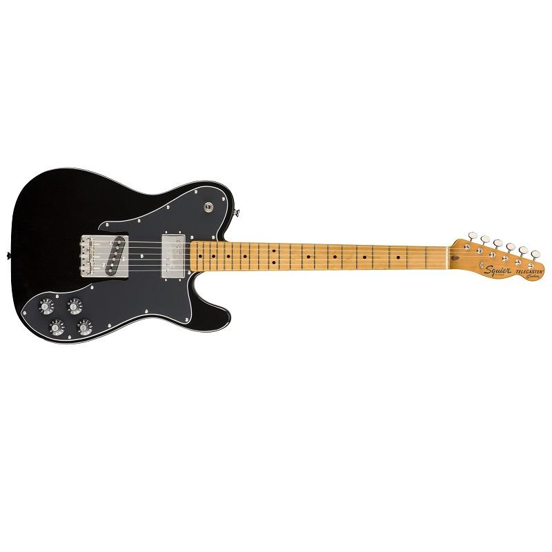 Fender Squier Telecaster Classic Vibe 70s Custom MN Black Chitarra Elettrica