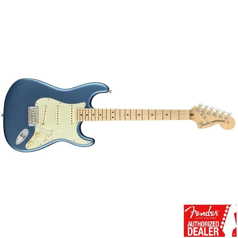 Fender Stratocaster American Performer MN Satin LBP MADE IN USA Chitarra Elettrica