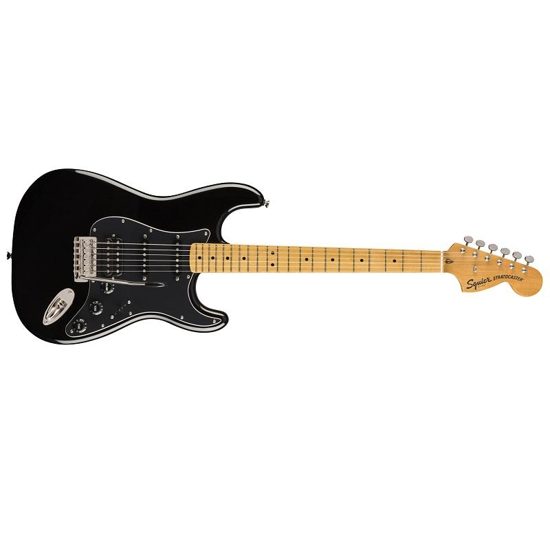 Fender Stratocaster Squier Classic Vibe 70s HSS MN Black Chitarra Elettrica