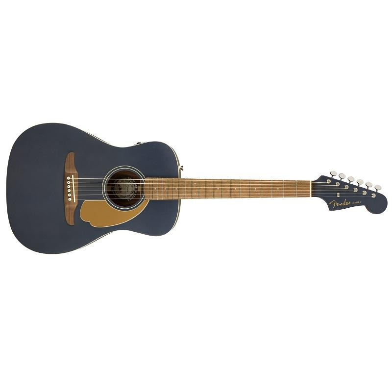 Fender Malibu Player Midnight Satin WN Chitarra Acustica Elettrificata