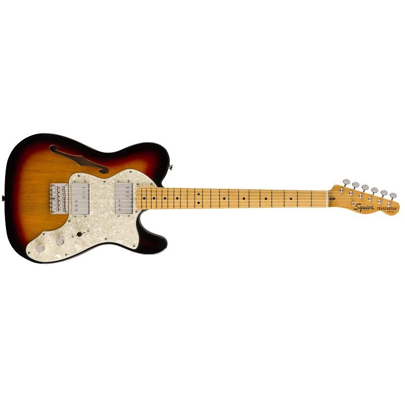 Fender Squier Classic Vibe Telecaster 70s Thinline MN 3TS Chitarra Elettrica