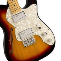 Fender Squier Classic Vibe Telecaster 70s Thinline MN 3TS Chitarra Elettrica_3