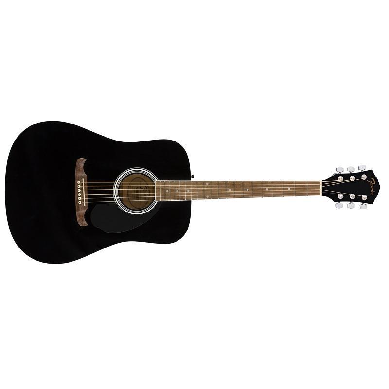 Fender FA-125 Black Chitarra Acustica