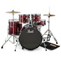 Batteria Pearl Roadshow RS505C Red Wine con piatti e hardware - SPEDITA GRATIS