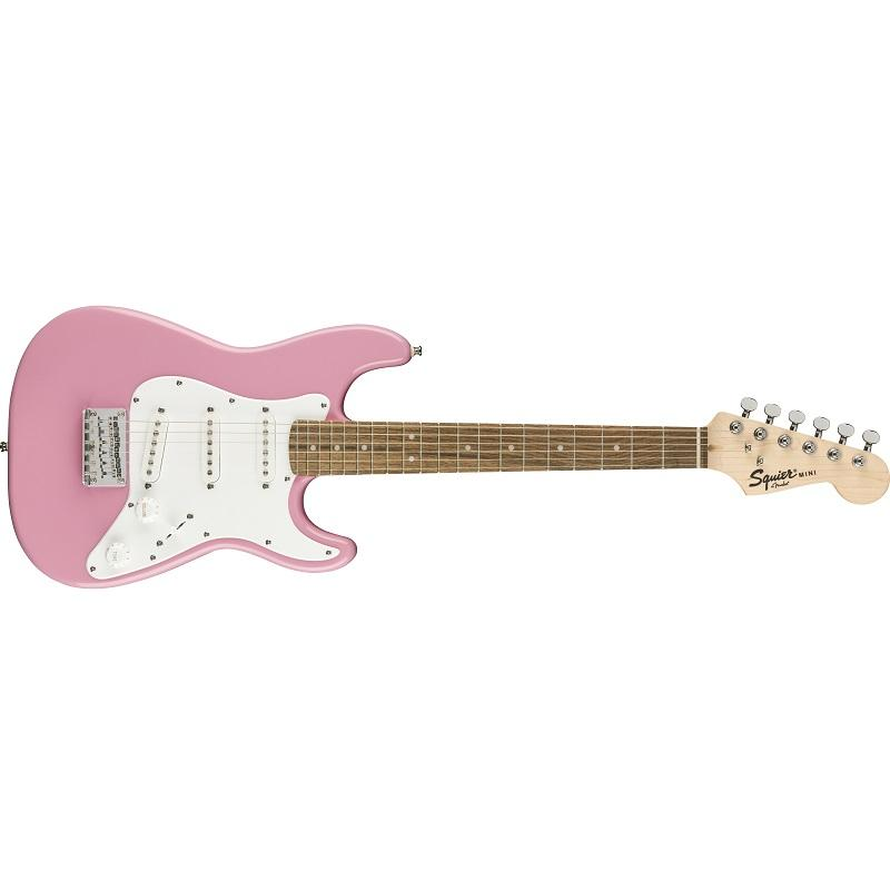 Fender Stratocaster Squier Mini RW Pink Chitarra Elettrica 3/4