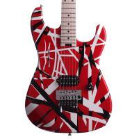 EVH Stripes Red with Black Stripes Chitarra Elettrica_3