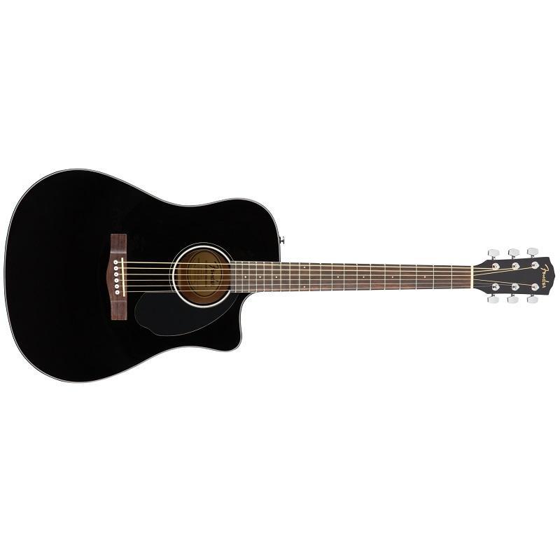 Fender CD 60SCE Black WN Chitarra Acustica Elettrificata