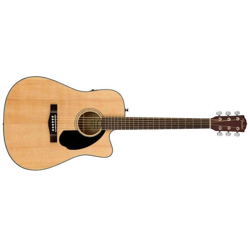 Fender CD 60SCE Nat WN Chitarra Acustica Elettrificata
