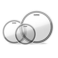 Set di 3 pelli Evans EC2S Pack Clear 10