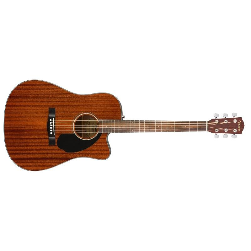 Fender CD 60SCE All Mahogany Chitarra Acustica Elettrificata