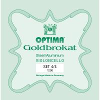 Muta di corde OPTIMA 1200 Set Goldbrokat per Violoncello
