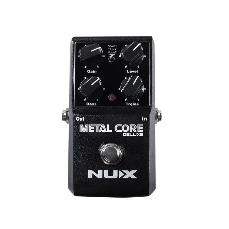 Nux STOMPBOX Metal Core Deluxe (Distorsore) Pedale per chitarra elettrica