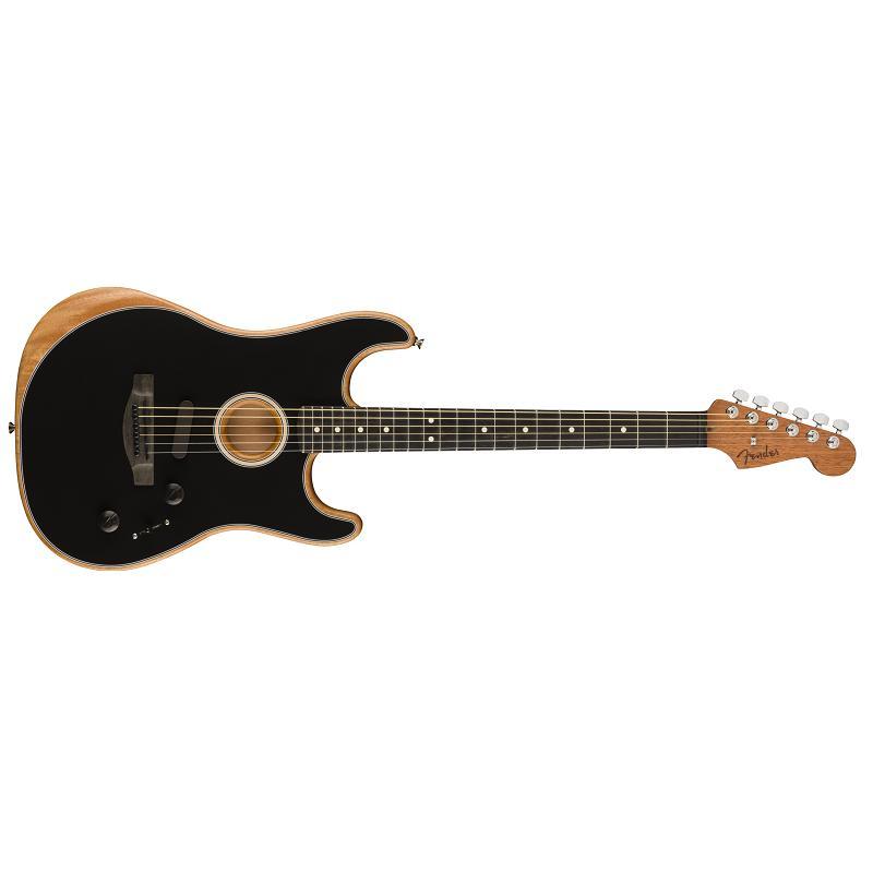 Fender American Acoustasonic Stratocaster EB BLK MADE IN USA Chitarra