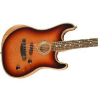 Fender American Acoustasonic Stratocaster EB 3TS MADE IN USA Chitarra _3