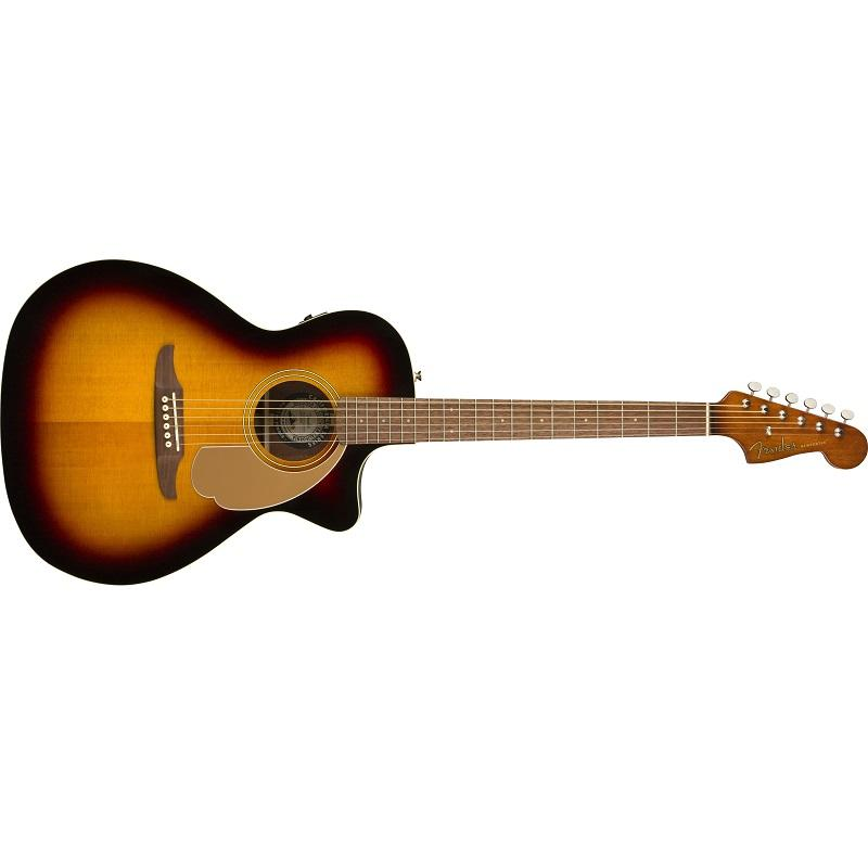 Fender Newporter Player WN SB Chitarra Acustica Elettrificata