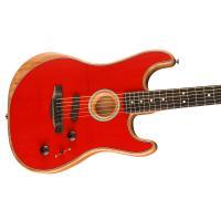 Fender American Acoustasonic Stratocaster EB DKR MADE IN USA Chitarra _3
