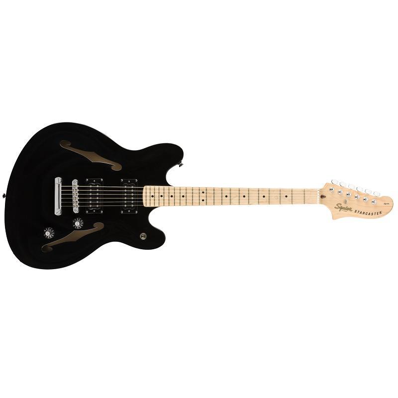 Fender Squier Affinity Starcaster MN BLK Chitarra Semiacustica