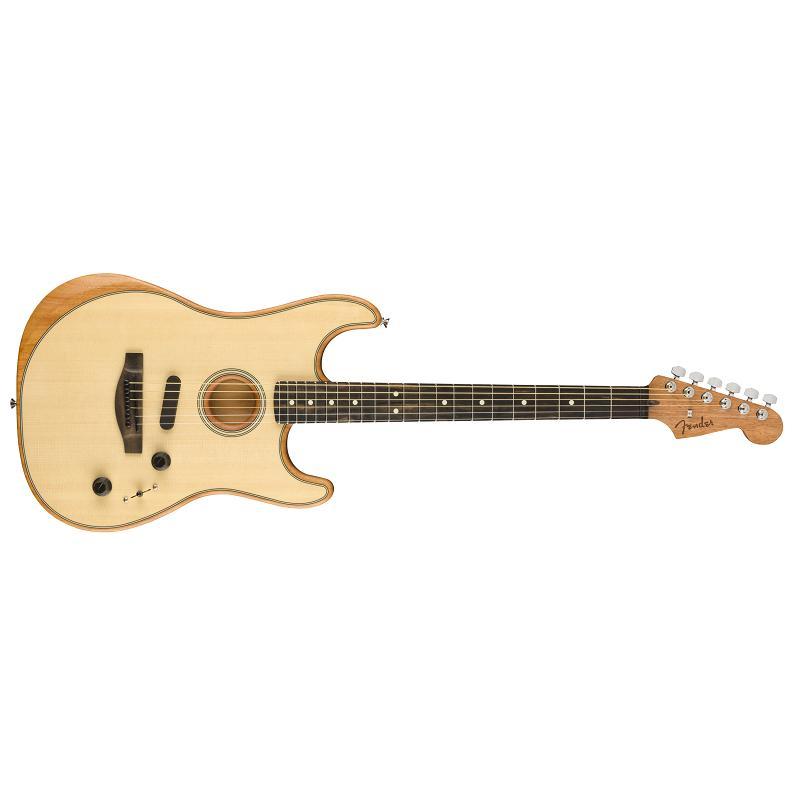 Fender American Acoustasonic Stratocaster EB NAT MADE IN USA Chitarra