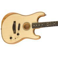 Fender American Acoustasonic Stratocaster EB NAT MADE IN USA Chitarra_3