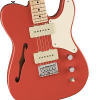 Fender Squier Paranormal Cabronita Telecaster Thinline MN FRD Chitarra Elettrica_3