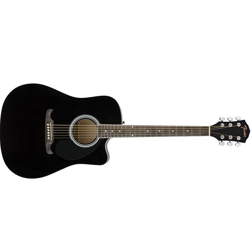 Fender FA-125CE Black Chitarra Acustica Elettrificata