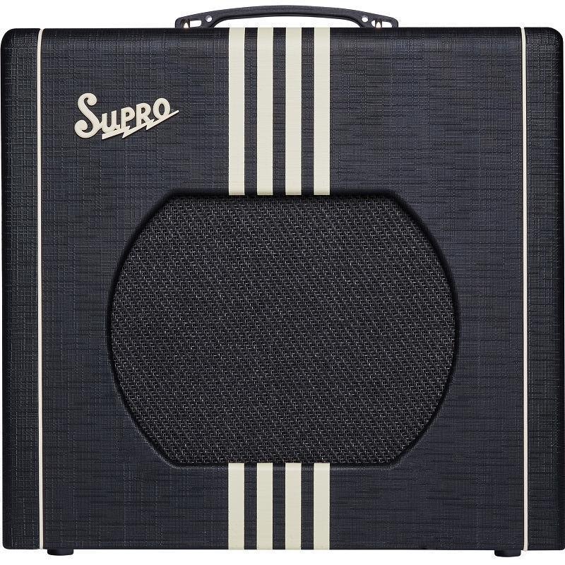 Supro Delta King 12 Black & Cream Amplificatore Valvolare per chitarra elettrica