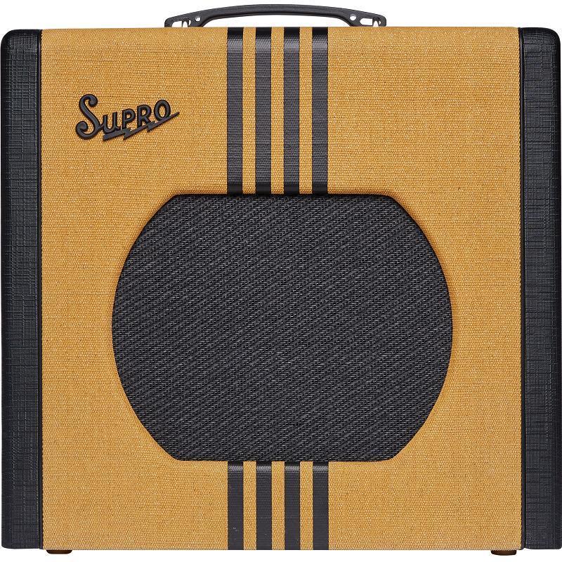 Supro Delta King 12 Tweed & Black Amplificatore Valvolare per chitarra elettrica