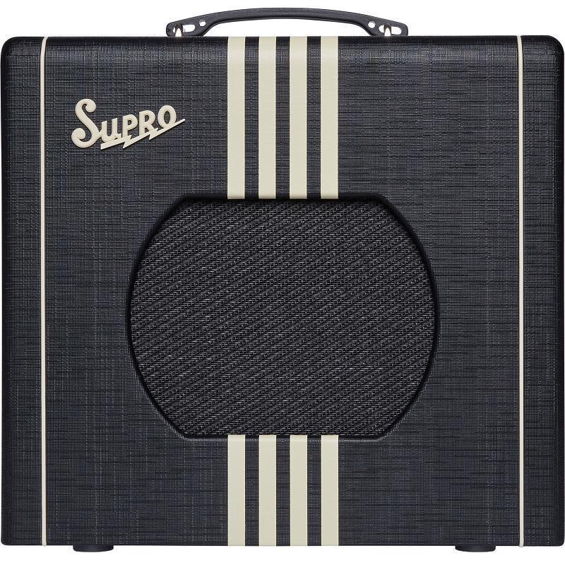 Supro Delta King 10 Black & Cream Amplificatore Valvolare per chitarra elettrica