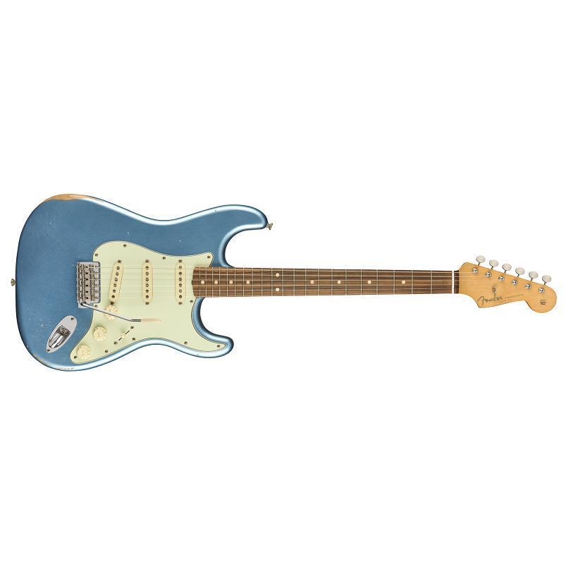 Fender Vintera Road Worn 60S Stratocaster PF LPB 75th Anniversary Chitarra Elettrica