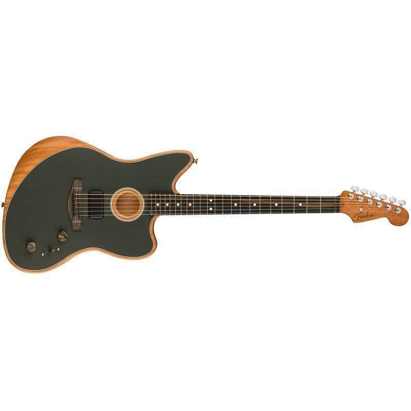 Fender American Acoustasonic Jazzmaster EB TUNG MADE IN USA Chitarra