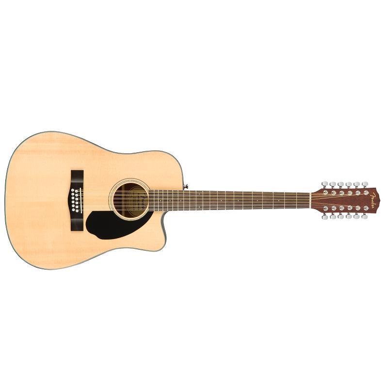Fender CD 60SCE-12 Nat WN Chitarra Acustica Elettrificata 12 Corde