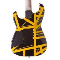 EVH Stripes Black With Yellow Stripes Chitarra Elettrica_3