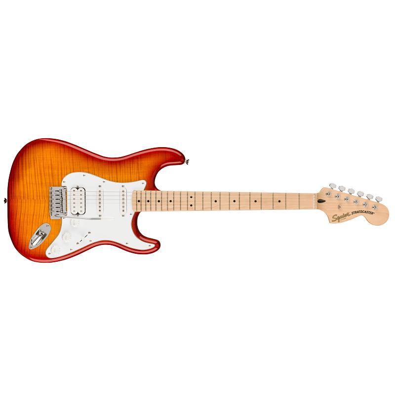 Fender Squier Affinity Stratocaster FMT HSS MN WPG SSB Chitarra Elettrica