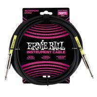 Ernie Ball 6048 Cavo PVC Black 3,05 m Connettori dritti
