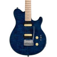 Sterling AX3FM Axis Flame Maple Top Neptune Blue Chitarra elettrica_2
