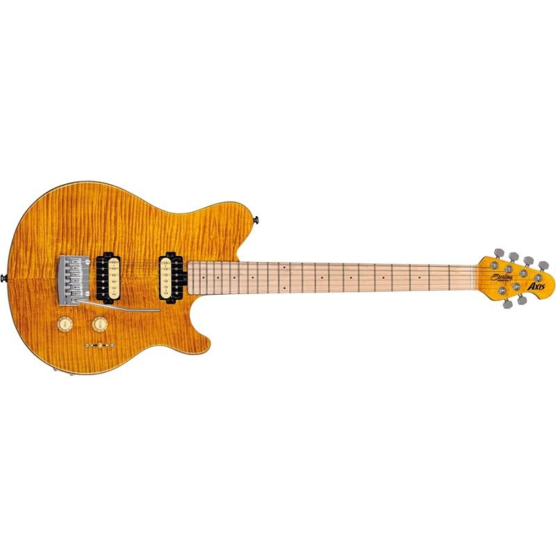 Sterling AX3FM Axis Flame Maple Top Trans Gold Chitarra elettrica