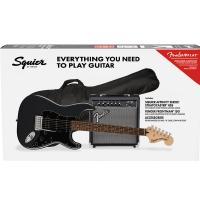 Fender Squier Stratocaster Affinity Pack HSS LRL CFM Charcoal Frost Metallic Chitarra Elettrica