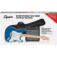 Fender Squier Stratocaster Affinity Pack HSS MN LPB Lake Placed Blue Chitarra Elettrica